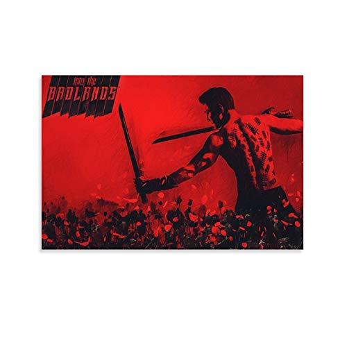 tongwenguan Poster sur toile de la série télévisée Into The Badlands - Décoration murale - 60 x 90 cm