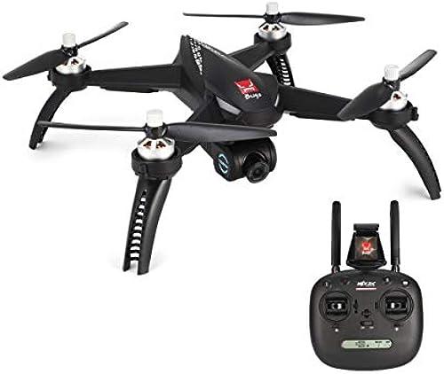 WOSOSYEYO MJX Bugs 5W B5W Brushless Motor GPS FPV RC Drohne Quadcopter mit verstellbarem 5G WiFi 1080P Kamera Follow Me Hovering (Schwarz