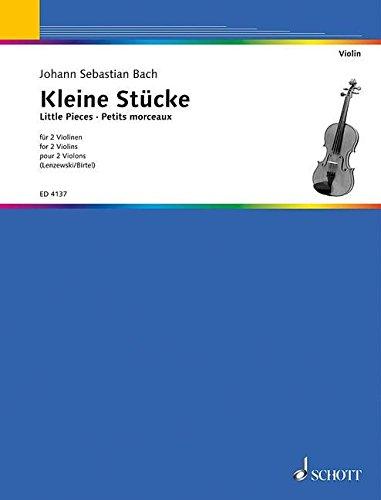 Kleine Stücke: 2 Violinen. Spielpartitur.