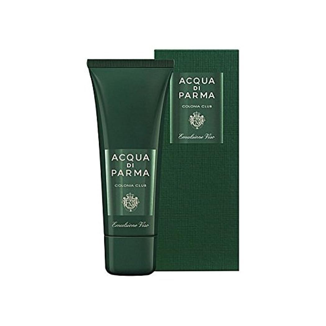 ふさわしいスカルク変形アクアディパルマコロニアクラブフェースエマルジョン75ミリリットル x4 - Acqua Di Parma Colonia Club Face Emulsion 75ml (Pack of 4) [並行輸入品]