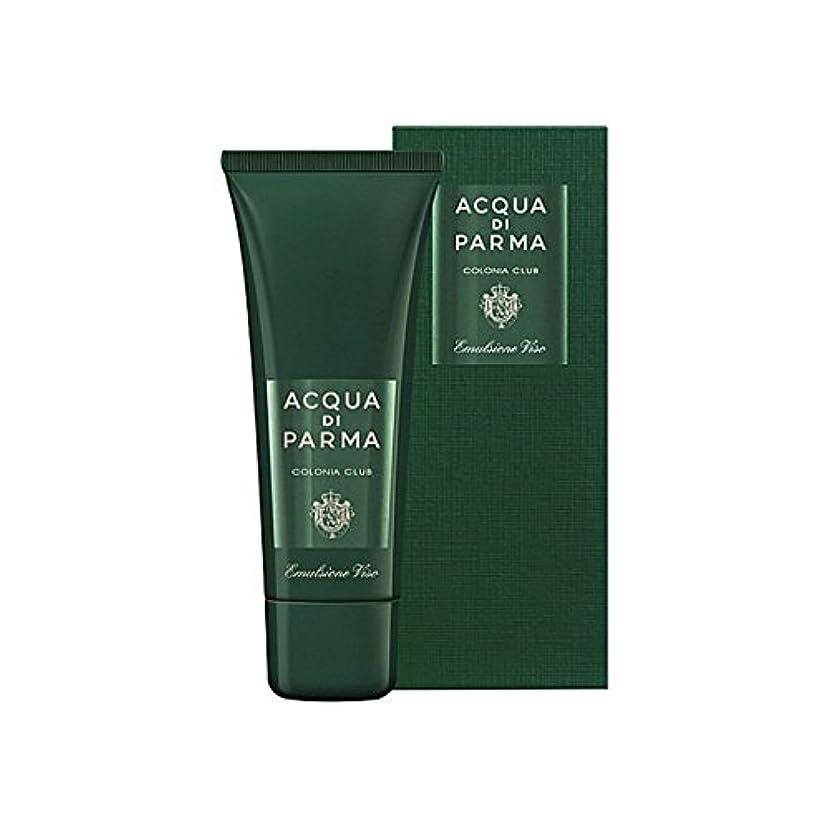 ホステル詐欺奇妙なAcqua Di Parma Colonia Club Face Emulsion 75ml (Pack of 6) - アクアディパルマコロニアクラブフェースエマルジョン75ミリリットル x6 [並行輸入品]