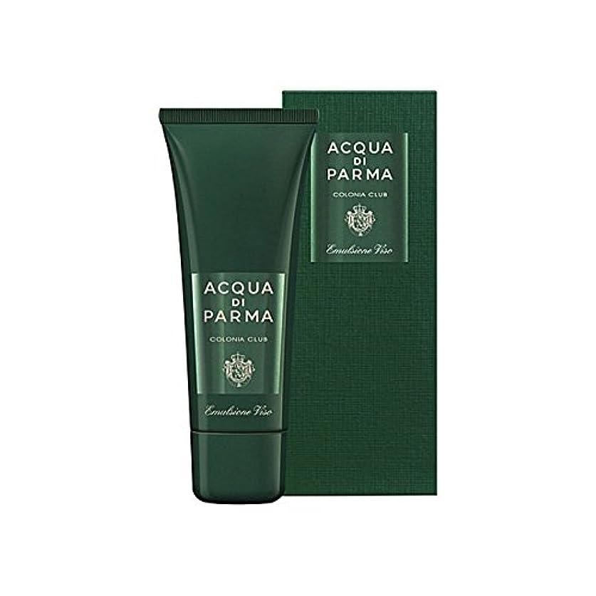 憂鬱な文法ピンクAcqua Di Parma Colonia Club Face Emulsion 75ml (Pack of 6) - アクアディパルマコロニアクラブフェースエマルジョン75ミリリットル x6 [並行輸入品]