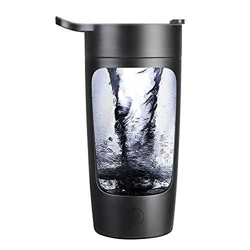 Elektrischer protein Shaker,Eiweiß Shaker USB Proteinshake Vortex Mixer 600 ml BPA Frei für Proteinpulver, Kaffee