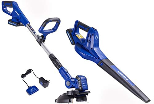 Great Features Of Wild Badger Power WBP20VTB WB20VTB Trimmer Sweeper with 2 Batteries
