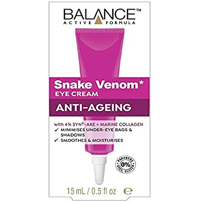 THREE PACKS Balance Active Snake Venom Eye Cream 15ml