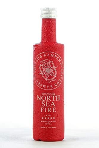North Sea Fire, Vodka-Likör mit Orange, 15{af8818d3380875f9bd82c9ac9b539bc614c3a4307bbf477c085dca29f713bc90} vol., Skiclub Kampen, 700 ml