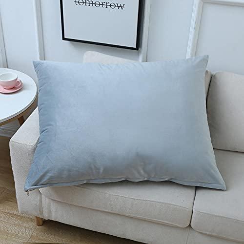 Almohada, Almohada de Diseño Ergonómico, Adecuada para Todos los Durmientes -Gris Claro_40 * 60 cm