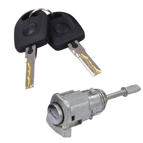 Schließzylinder Türschloss Schliesszylinder Zündschloss, Schließzylindersatz, Schlüssel, links, vorne
