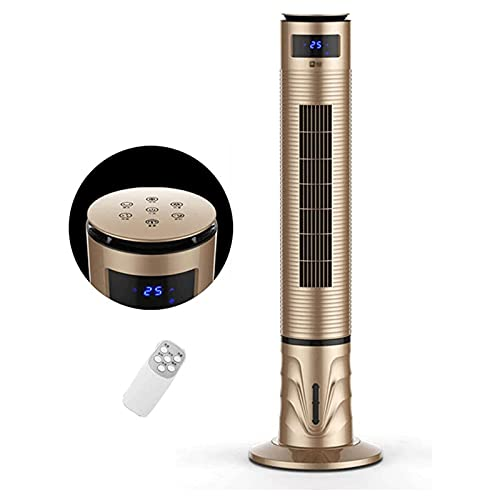 cx-kzw Ventilador de Torre 120 cm con Control Remoto y Pantalla LED, Ventilador de enfriamiento Vertical para el hogar/Oficina, configuración de 3 velocidades y 3 Modos,