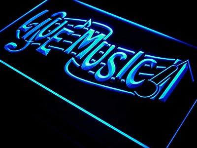 ADVPRO Live Music Bar Lounge Club Beer LED Neon Sign st4-i546