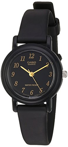 Casio Women's 'Classic' Quartz Resin Casual Watch, Color:Black (Model: LQ139A-1)