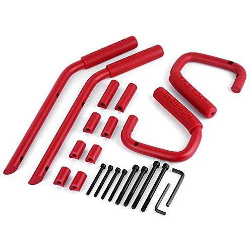 Poignée de maintien pour poignée de Jeep Wrangler JK Sahara Sport Rubicon X & Unlimited 4 Portes 2007-2017