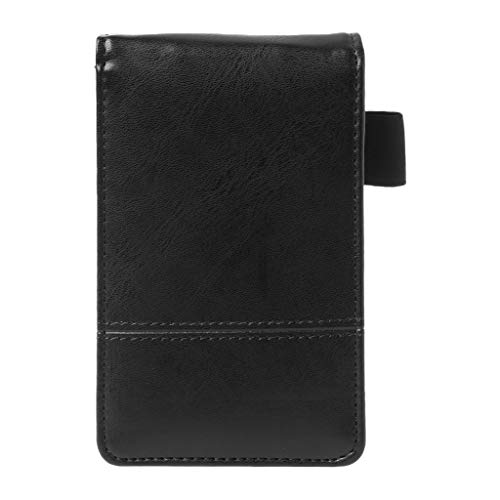MSEKKO Notebook Pocket A7 Notebook Cover in Pelle Notepad Memo Agenda diario con calcolatrice Forniture per Ufficio di Lavoro Aziendale