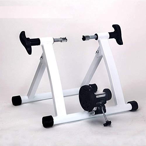 WYJW Soporte para Entrenador de Bicicletas Entrenador de Bicicletas para Interiores Ejercicio Interior Bicicleta Entrenador magnético Plataforma para Montar en Bicicleta de montaña Entr