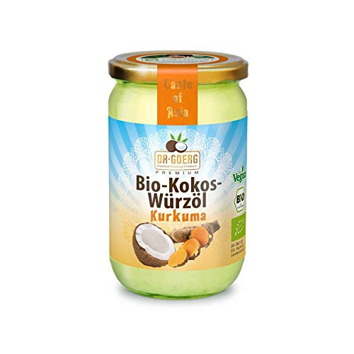 Aceite de Coco Cúrcuma Bio 175 g de aceite