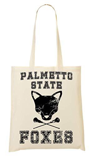 BakoIsland The Foxhole Court Palmetto State Tragetasche Einkaufstasche