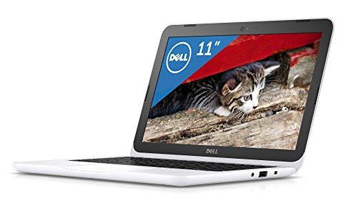 『Dell ノートパソコン Inspiron 11 Celeronモデル ホワイト 17Q11W/Windows10/11.6インチ/2GB/32GB』のトップ画像