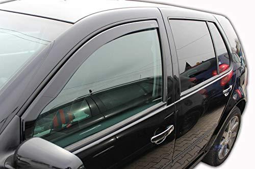 Deflettori d\'aria, deflettori di vento, compatibili con Golf 4 5 porte 1997-2004, 2 pezzi.