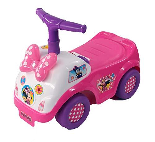 Kiddieland Toys Light n Sound Minnie Ride On with Folding Handle