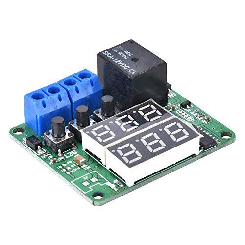 Módulo de relé de pantalla LCD, útil y robusto módulo de relé para componente electrónico para uso general para fábrica para uso profesional