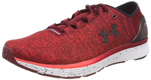 Under Armour - UA Charged Bandit 3 - Chaussures - Homme Rouge (Marathon Red) ,42.5 EU