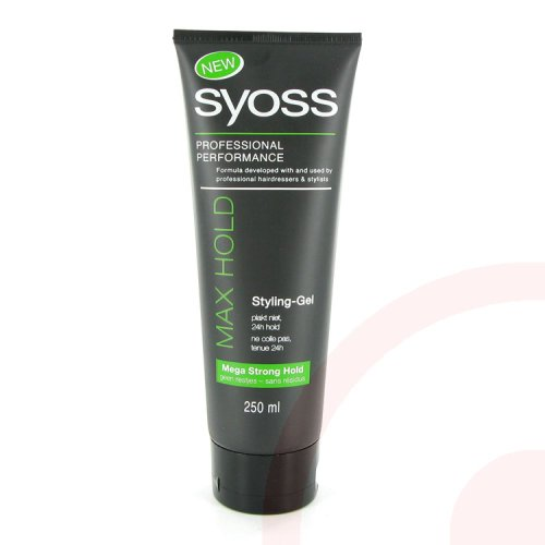 SYOSS Germany - Styling Gel - Max Hold - 250 ml