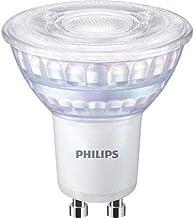 Philips ampoule LED Equivalent 35W GU10, Blanc chaud, Dimmable, Verre, Lot de 2