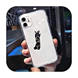 Funda para teléfono de baloncesto caliente transparente suave para iPhone 5 5s 5c se 6 6s 7 8 11 12 Plus Mini x XS XR Pro max-a12-iphone 12or12 pro