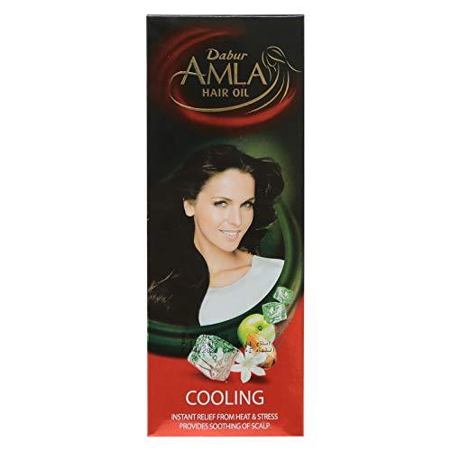 クーリングヘアオイルアムラ-200ml Dabur Amla Cooling hair oil SARTAJ डाबर आमला कूलिंग हेयर ऑयल सरताज