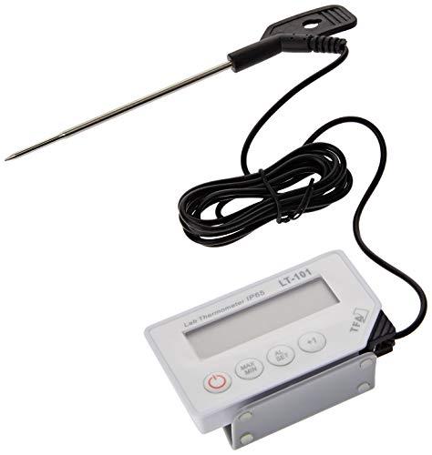TFA 012802060 Termómetro Digital con sonda, Blanco