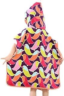 キッズ/幼児タオル - 綿100% - キッズバスタオルビーチタオルプールスイミングカバーアップなどに使用 - すべての季節のための超通気性とソフト - 60 cm (Color : Multi-colored)