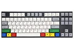 Varmilo VA87M PBT Keycaps with RGBY Modifiers White LED Backlit 14 x 5 x 1.3 in