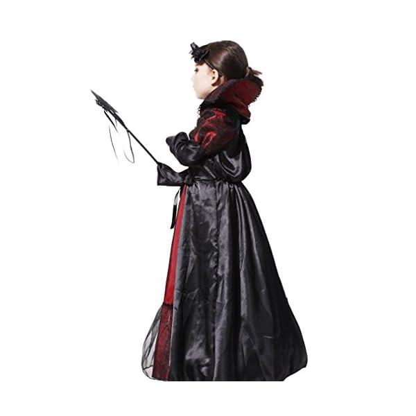 EOZY-Vampire Queen Costume - Vampire Girl Costume - Twilight - Girls Girls 'Dress And Accessories for Halloween Carnival, Cosplay 4 spesavip