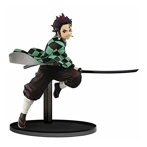 UNILIFE Figura de Acción de Kamado Tanjirou Figuras de Juguete de Demon Slayer Figuras Coleccionables de Fanáticos del Anime Figurillas Decorativas 15 cm