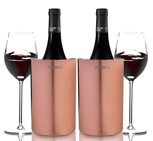 Strova Enfriador de botellas de vino (Cobre)
