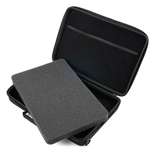 DURAGADGET Maletín/Funda rígida para maquinilla de Afeitar/Corta Pelo Braun 10, 130, 300SB, MobileShave M-90, WaterFlex WF2 - con gomaespuma Personalizable