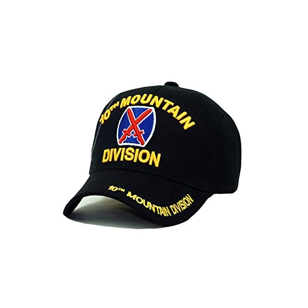 U.S. Military Official Licensed Embroidery Hat Army Navy Veteran Division Baseball Cap