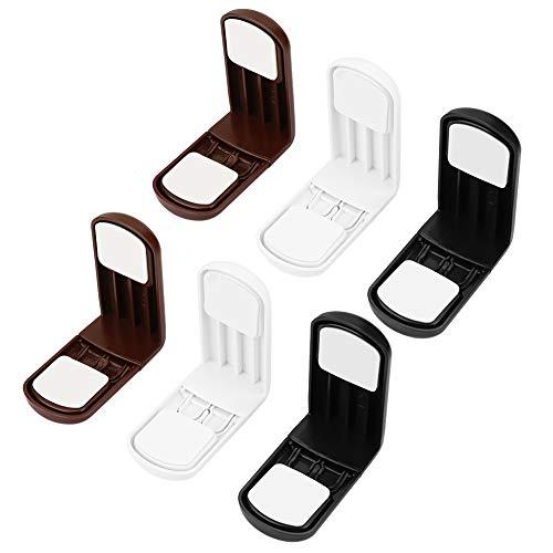6 stuks/set baby-veiligheidssloten rechthoekige kleefveiligheid duurzaam slot houden de baby veilig voor de ladekast.