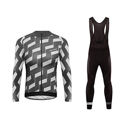 UGLY FROG Damen Radsport Winter Fleece Trikots Lange Ärmel+ Lange Hosen Anzüge Sport & Freizeit Clothes