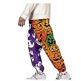 2021 Nuevo Halloween Pantalones para Hombre Casual Moda trabajo pantalones Suelto Pants Jogging Talla grande Pantalon Chandal Hombre Pantalones harén Largos Ropa de hombre Pantalones de Trekking