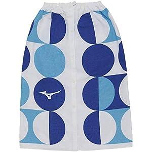 MIZUNO(ミズノ) ラップタオル 巻きタオル サイズ:L ブルー N2JY9000