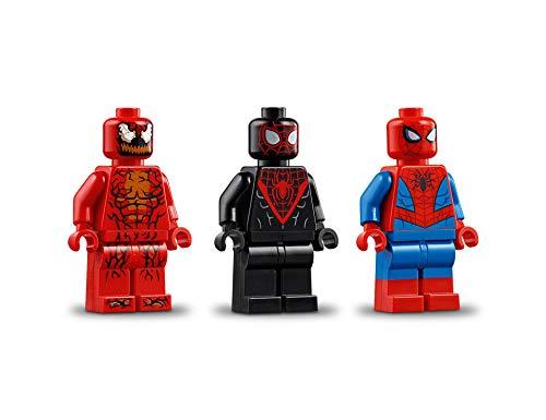 LEGO Super Heroes Rescate en Moto de Spider-Man, juguete de construcción de las aventuras del Hombre Araña, incluye un…