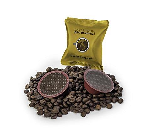 200Lavazza a Modo Mio (R) compatible Cápsulas de Café Oro Di Napoli Laco mpatibile