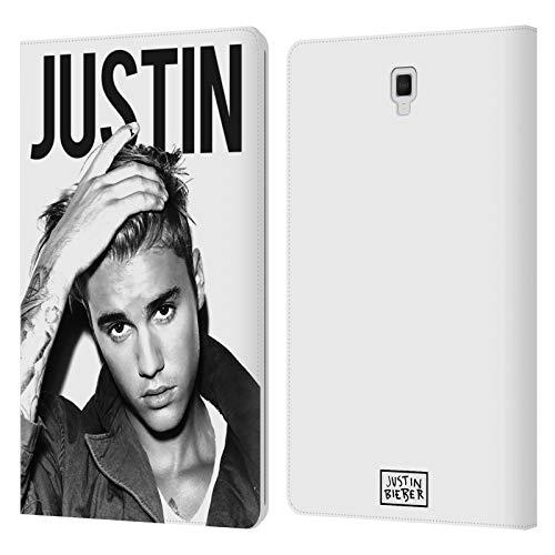 Head Case Designs Ufficiale Justin Bieber Calendario Bianco E Nero Purpose Cover in Pelle a Portafoglio Compatibile con Galaxy Tab S4 10.5 (2018)