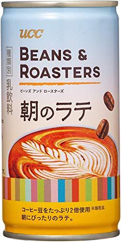 【表示価格から50%OFF】 [訳あり(賞味期限2021年1月9日)]UCC Beans & ROASTERS 朝のラテ 缶コーヒー 185g ×30本