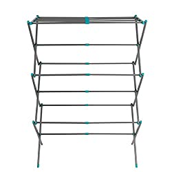 Save money on tumble drying and look after the environment with this brilliant Beldray clothes airer, perfect for drying laundry. Made from steel with a powder coated finish, the airer offers a total of 7 metres drying space, just simply unfold it re...