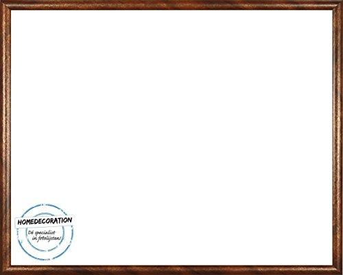 Rotterdam plastic fotolijsten 50x60 cm 60x50 cm kleurkeuze: hier Terra Gold met acrylglas Antireflex