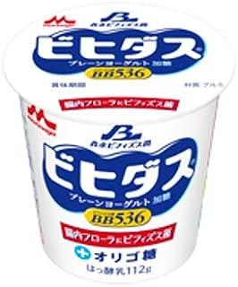 森永 ビヒダスヨーグルトBB536 プレーン・加糖112g 12個
