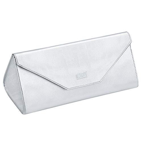 Kyrio Bolsa de almacenamiento impermeable para secador de pelo, compatible con Dyson Supersonic Dryer PU Funda de almacenamiento portátil de viaje (plata)