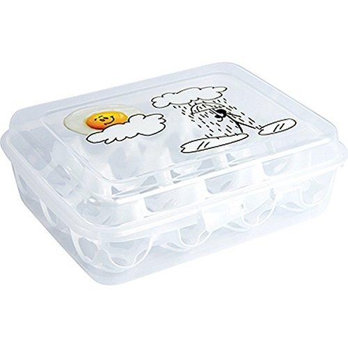 Hega 16736uova contenitore con stampo in etichettatura, assortiti uova In-Mould etichettatura